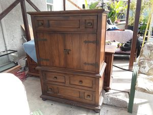 Antique armoire and dresser set for Sale in Santa Ana, CA