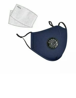 Hand made cotton face cover with replaceable carbon fiber filters washable and reusable for Sale in Atlanta, GA