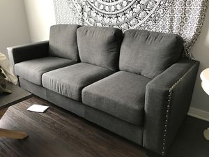 Torrington Linen Arm Sofa for Sale in Huntington Beach, CA