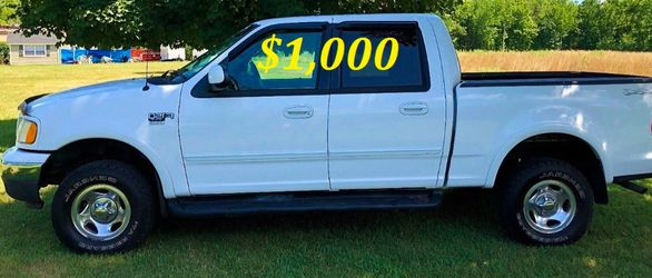 🟢💲1,OOO I'm selling URGENT this Beautiful💚2OO2 Ford F15O nice Family truck XLT Everything is working great! Runs great and fun to drive💪🟢 for Sale in Detroit,  MI