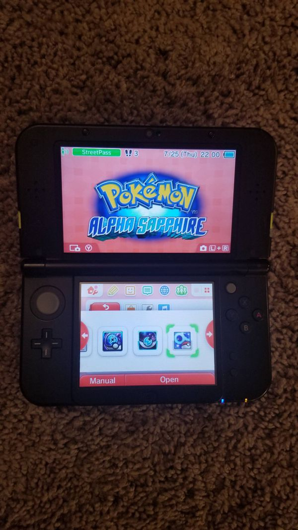 Nintendo New 3DS XL with preinstalled games (price negotiable)