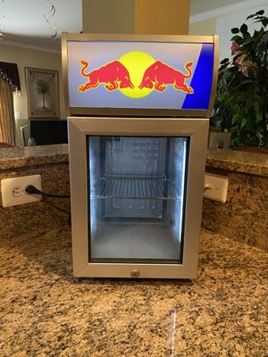 Pre-Owned Red Bull Mini Refrigerator for Sale in West Springfield, VA