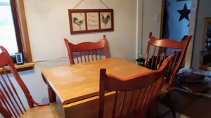 Table w/4 chairs and a Pair of Chairs for Sale in Fayette, OH