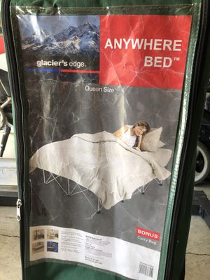 Anywhere Bed platform queen size (camping) for Sale in Vancouver, WA