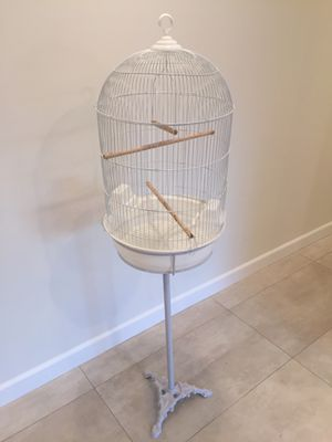 Large Round Dome Top Bird Cage with Stand BRAND NEW for Sale in Los Angeles, CA