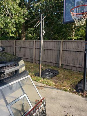 Adjustable basketball hoop for Sale in Hampton, VA