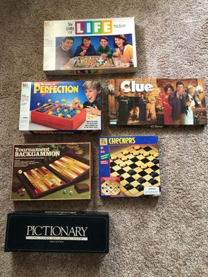 Lot of 6 games for Sale in Point Pleasant, NJ