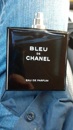Chanel blue ray de parfum 3.4 for Sale in San Bernardino, CA