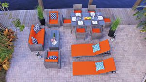 Nico 13 Piece Combination Outdoor Furniture Set. for Sale in Miami, FL