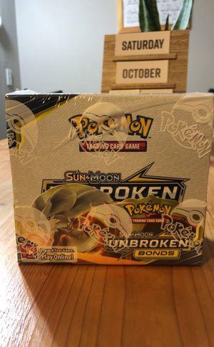Pokémon cards sun&moon unbroken bonds for Sale in Auburn, WA