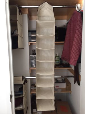 8 Container Closet Organizer for Sale in Queens, NY