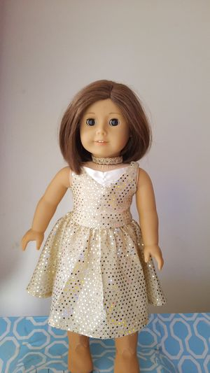 """American Girl 18"""" Doll and Bistro Chair for Sale in Burbank, CA"""