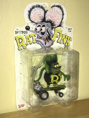 *RAT FINK sideshow toys Jonzo action figure* Negotiable (obo) for Sale in Hayward, CA