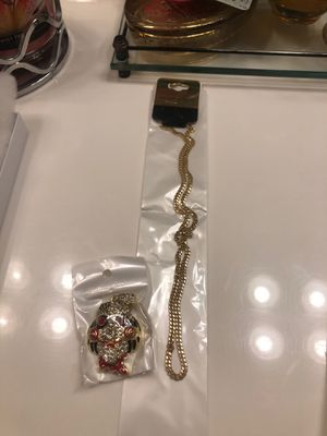 Hip hop jewelry for Sale in Las Vegas, NV
