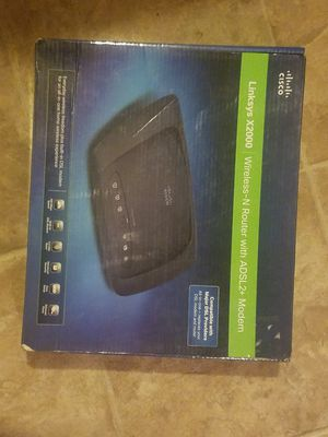 Linksys wireless Modem for Sale in Nashville, TN