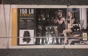 NEW Dumbbell Set w/ Rack - Pairs: 5, 10, 15, 20, 25 lbs. by CapBarbell for Sale in Clarksburg, MD