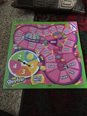 Shopkin board game for Sale in Garner, NC