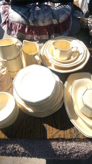 Homer Laughlin antique China plates for Sale in Salt Lake City, UT