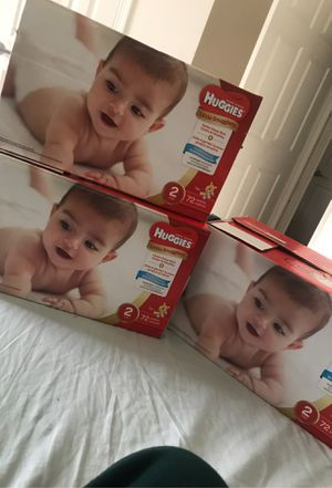 Diapers size 2 *read description* for Sale in Virginia Beach, VA