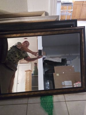 Beautiful beveled large mirror. SERIOUS INQUIRIES ONLY for Sale in Tampa, FL