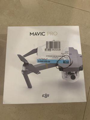 DJI Mavic pro for Sale in Tamarac, FL