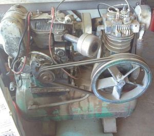 12 HP Kohler Electric Start Compressor for Sale in Bakersfield, CA