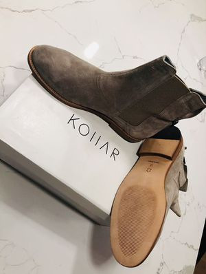 Kollar Clothing - Stone Grey Chelsea Boots for Sale in Chicago, IL