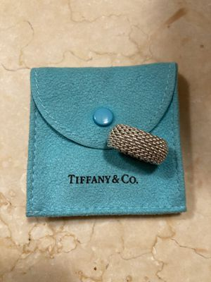 Authentic retired Tiffany & Co. somerset ring Sz 5 for Sale in Washington, NJ