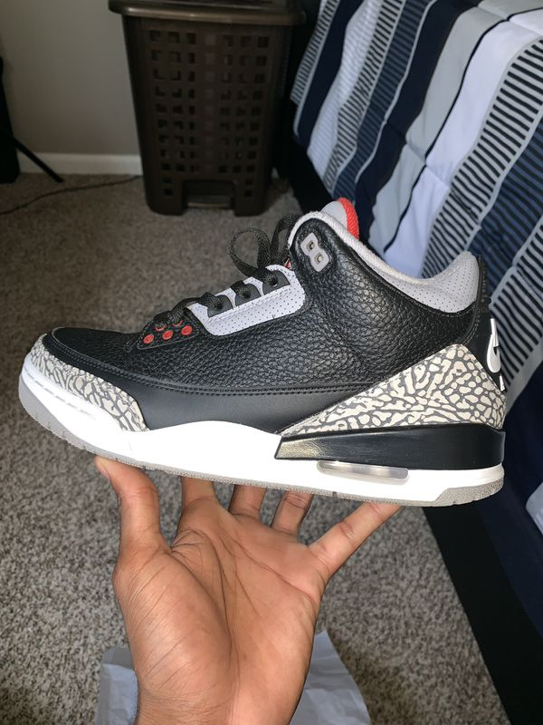 Air Jordan 3 Retro OG Sz 9.5