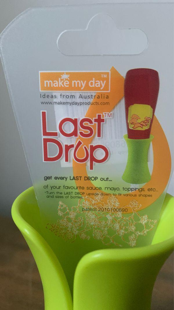 Brand New Last Drop Condiment Holder
