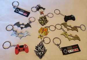 Dragon Ball Z and Controller key chains 2X $15 for Sale in Los Angeles, CA
