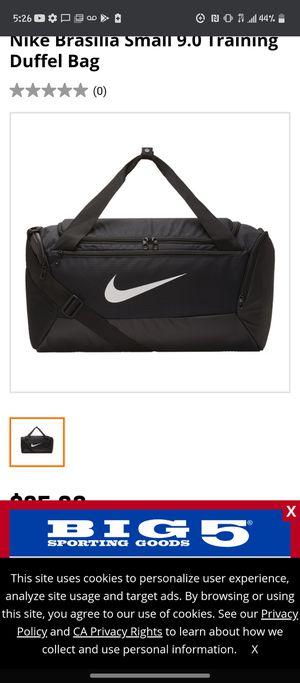 Nike duffle bag for Sale in Bakersfield, CA