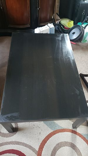 Black ikea table for Sale in San Jose, CA
