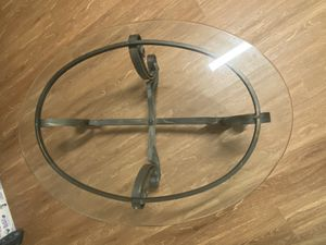 Glass table for Sale in Charlottesville, VA