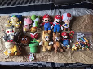 Super Mario Plush Doll Bundle for Sale in Hartford, CT