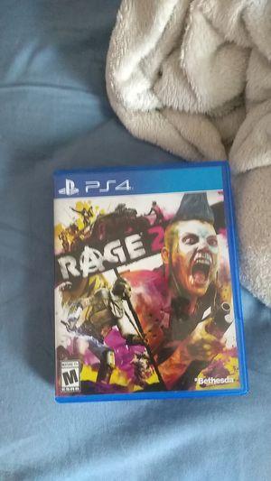 Rage 2 Ps4 for Sale in Buckeye, AZ
