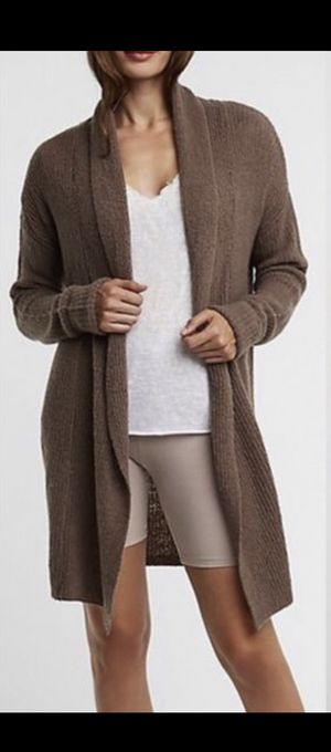 NEW Charlotte Russe Cozy Cardigan Sweater, Taupe Size Small for Sale in Palmdale, CA