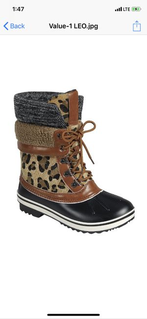 ❄️🌧Snow/Rain ((Only women )) boots ⛄️☔️ for Sale in Anaheim, CA