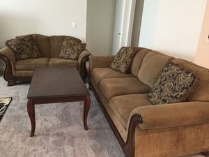 Sofa bed, Love Seat, & Coffee Table for Sale in Watauga, TX