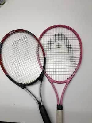2 Beginner Tennis Rackets for Sale in Las Vegas, NV