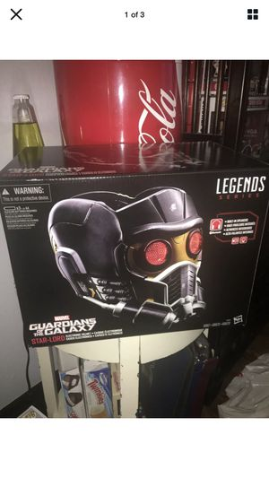 Marvel C0692 Star Lord Electronic Helmet Action Figure for Sale in Murrieta, CA