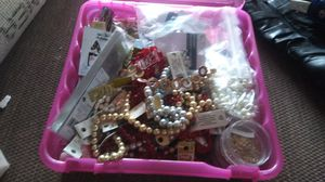 Full box with craft and art supplies. for Sale in Tacoma, WA