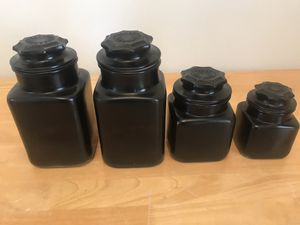 Canister set (there is a 5th small canister not pictured!) for Sale in Port St. Lucie, FL