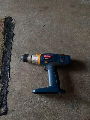 RYOBI 18 volt cordless drill SA 1802 no battery for Sale in Vista, CA