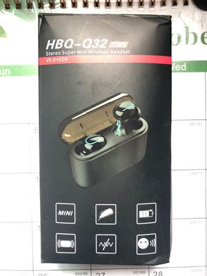 HBQ Wireless Earbuds Headset for Sale in Chula Vista, CA