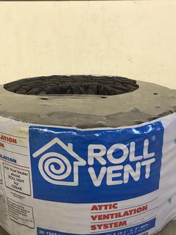 Roll Vent Attic Ventilation System RV20 Benjamin Obdyke for Sale in Woonsocket,  RI