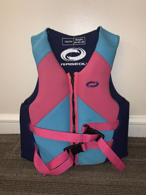 YOURH O'RAGEOUS LIFE JACKET WATER LIFE VEST SWIMMING for Sale in Naples, FL