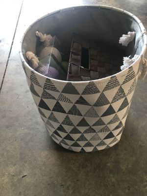 Basket for clothes or toys for Sale in Fontana, CA