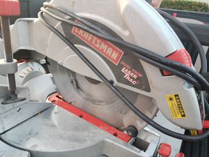 Laser line Mitre Saw with movable table for Sale in Punta Gorda, FL