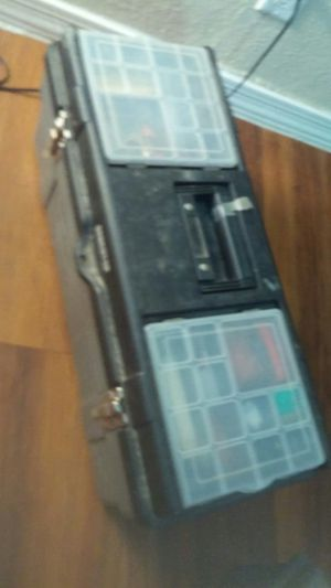 BENCHTOP TOOL BOX WITH (ASSORTED TOOLS ) for Sale in Tempe, AZ